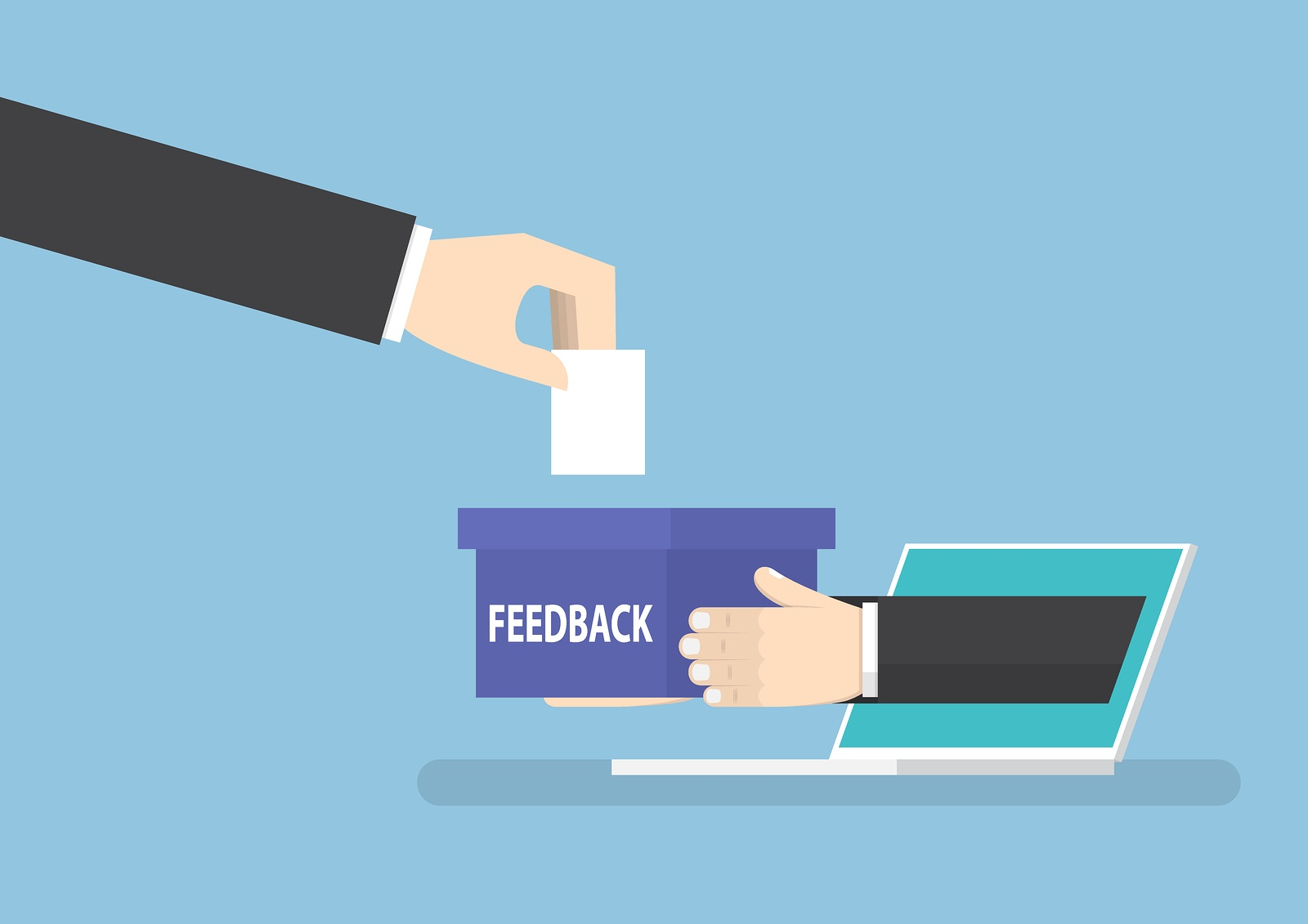 business evaluation feedback