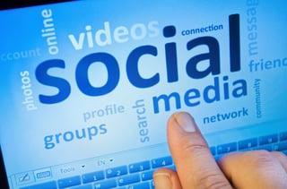 follow social media activity